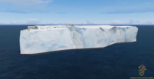 News World: Ice Pirate plan to tow iceberg to UAE for