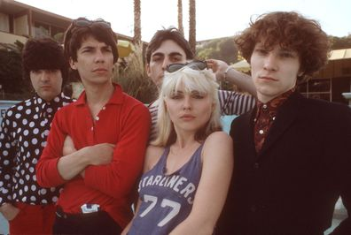 Chris Stein, Jimmy Destri, Debbie Harry, Gary Valentine and Clem Burke of Blondie