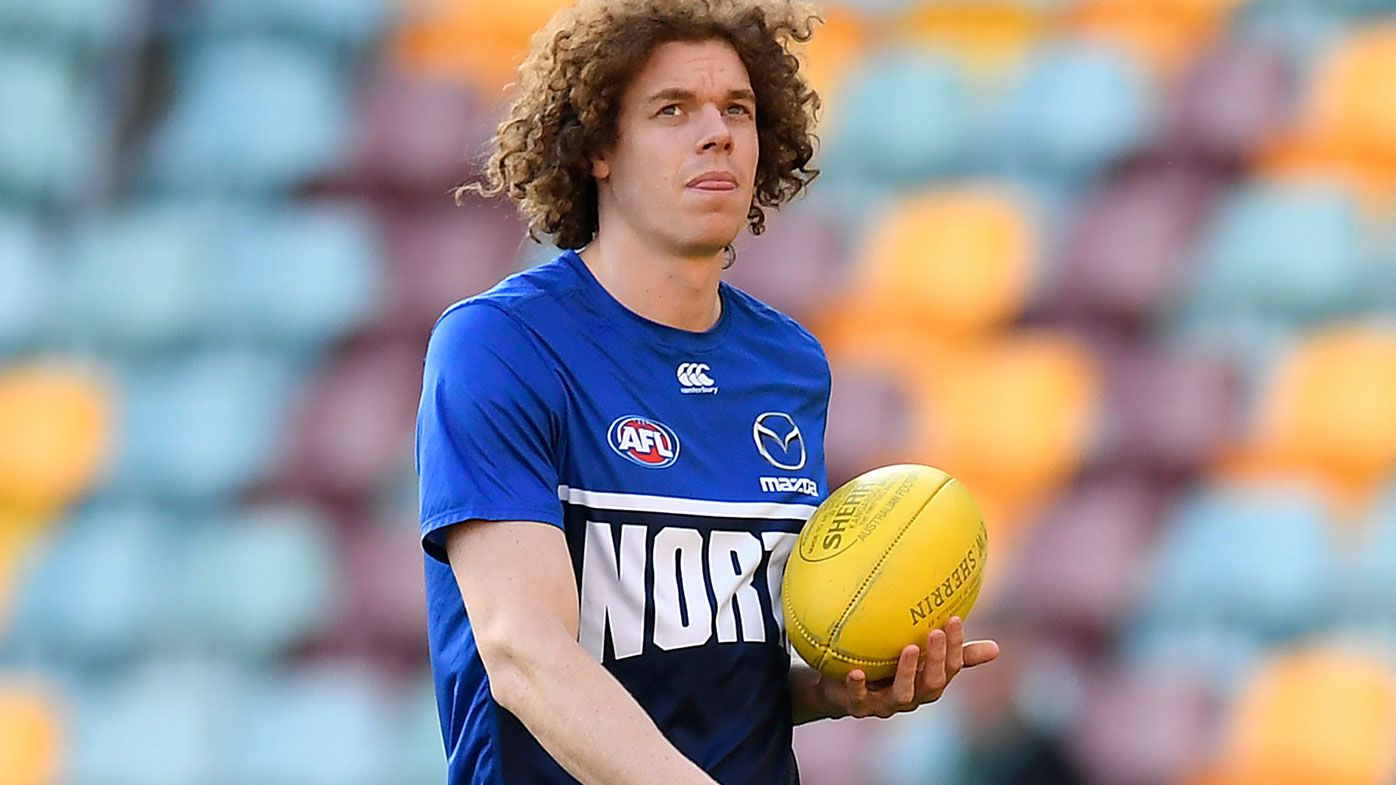 North Melbourne's Ben Brown