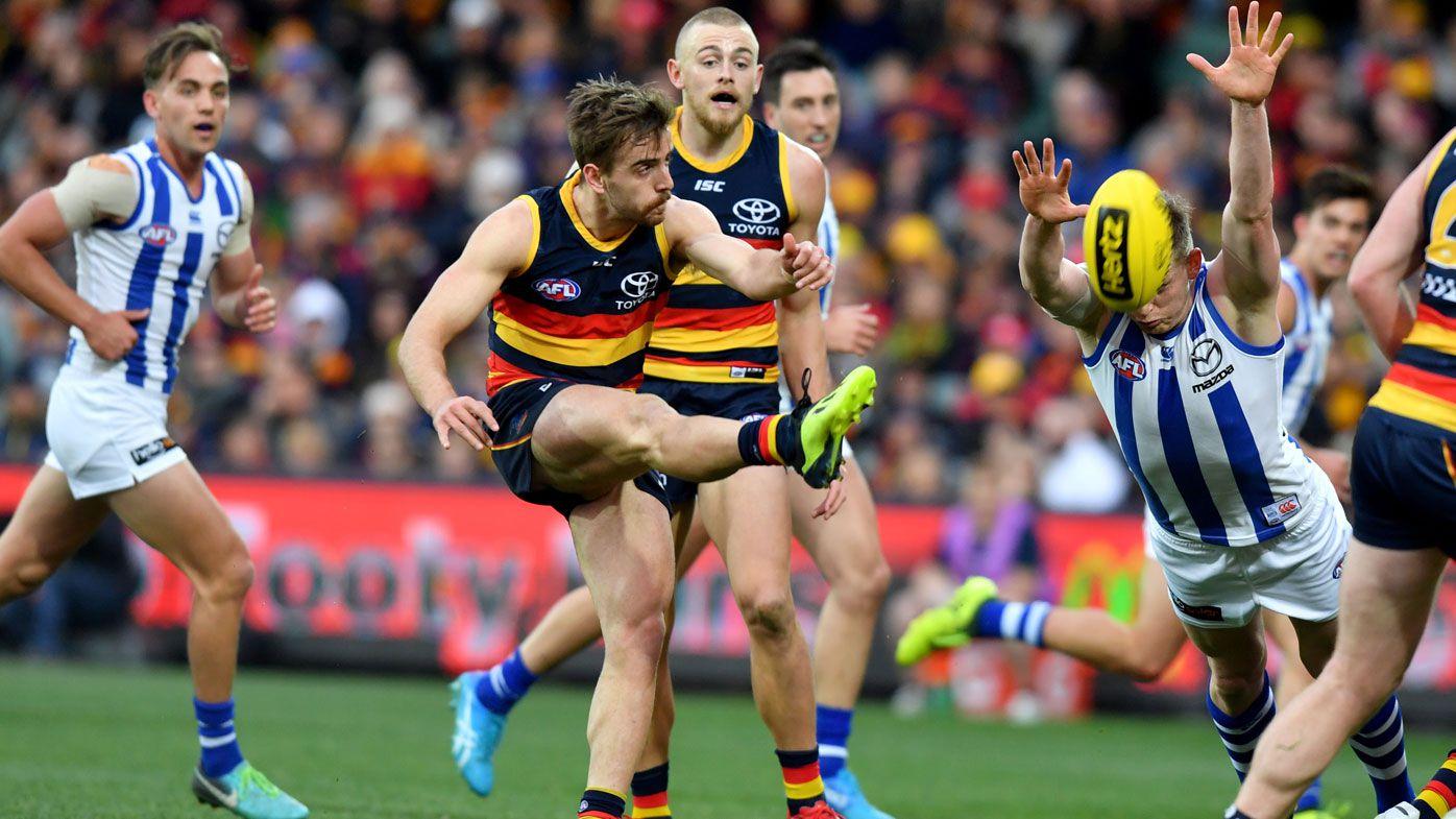 Adelaide extinguish Roos' AFL final hopes