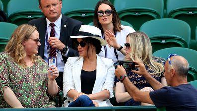 Meghan Markle backlash over Wimbledon security