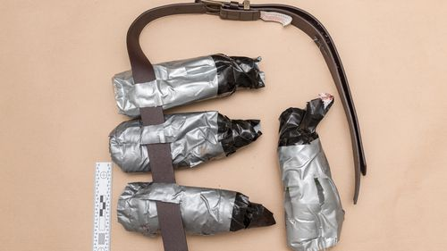 London attack: UK police release images of fake explosive belts used by terrorists