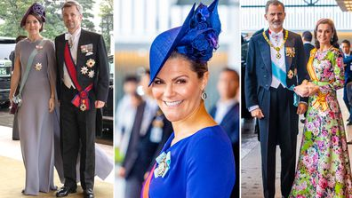 Enthronement Ceremony Of Emperor Naruhito of Japan - Princess Mary, Prince Frederik, Crown Princess Victoria, Queen Letizia, King Felipe VI of Spain