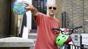 Britain's Prime Minister Boris Johnson's senior aid Dominic Cummings leaves his north London home, in London, Saturday May 23, 2020