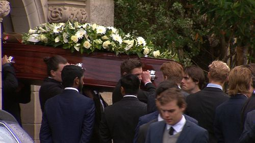 Mourners farewell Stuart Kelly, brother of Kings Cross one-punch victim Thomas