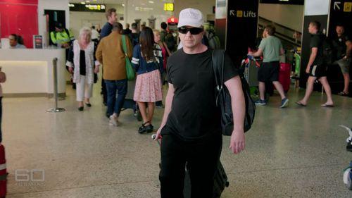 """""""Joe Donor"""" arrives in Australia."""