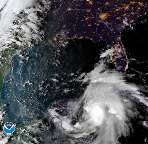 A tropical weather system that rapidly strengthened into Hurricane Michael on Monday is likely to keep growing stronger.
