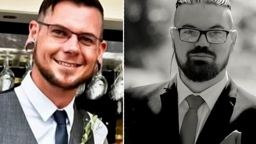 Father of three Nick Peart (left) was killed in the crash, while Campbell Smith (right) remains in a critical condition in hospital.