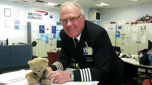 Mr P Bear is now the owner of a gold executive club card.  (Scott Cranmer/ Facebook)