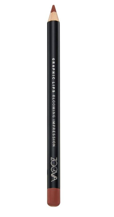 """<p><a href=""""https://www.sephora.com.au/products/zoeva-graphic-lip-pencil/v/blooming-impression"""" target=""""_blank"""" title=""""Zoeva Graphic Lip Pencil in Blooming Impression, $11"""" draggable=""""false"""">Zoeva Graphic Lip Pencil in Blooming Impression, $11</a></p> <p>""""Lips really make the 90&rsquo;s look complete"""" Baker told HoneyStyle.</p>"""
