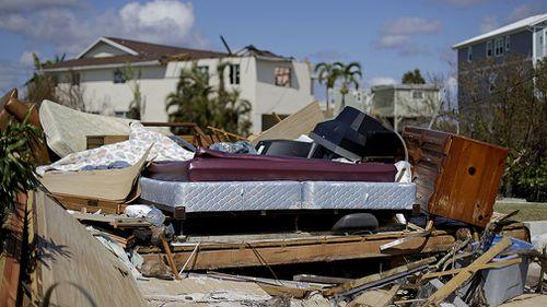 The British Virgin Islands were hit hard by Irma. (AAP)