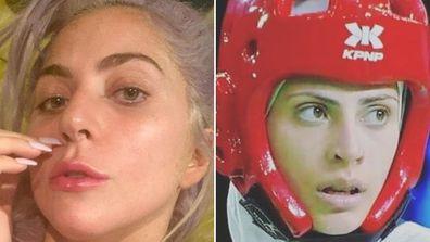 Lady Gaga and Julyana Al-Sadeq