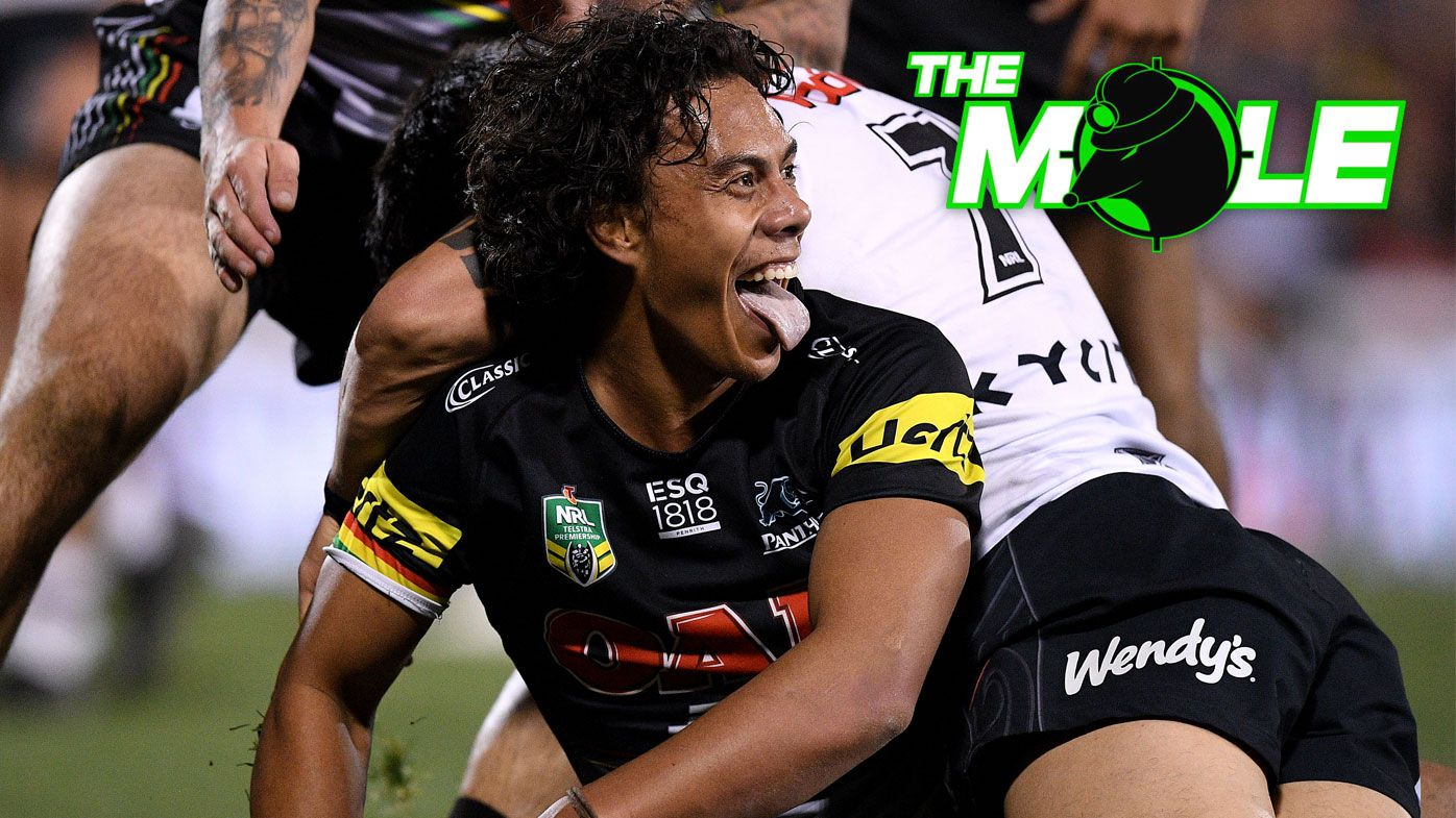 NRL: Penrith Panthers re-sign Jarome Luai until end of 2021