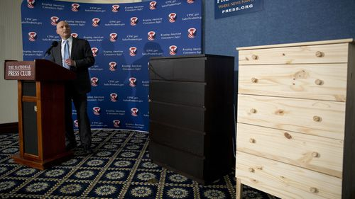US Consumer Product Safety Commission Chairman Elliot Kaye speaks about the Ikea drawers last June.