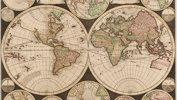 Carel Allard map 1696