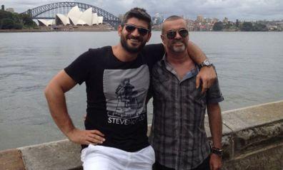 George Michael and Fadi Fawaz