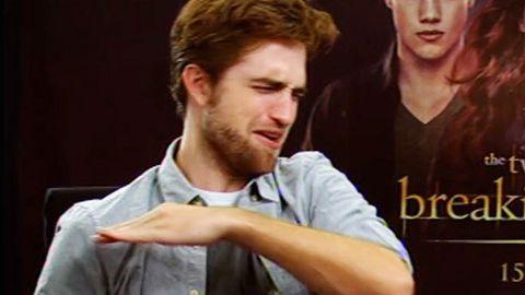 Robert Pattinson: My disgusting bacon sandwich Twilight diet