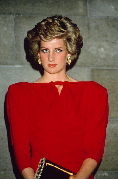 Princess Diana longer hair