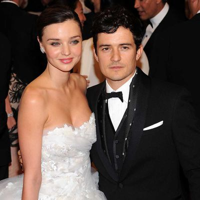 Miranda Kerr and Orlando Bloom