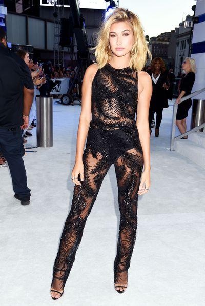 Hailey Baldwin at the MTV awards