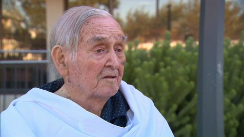 Mr Craster, who requires around-the-clock care and whose health has begun to deteriorate, had been begging to be reunited with his wife of 68 years. Picture: 9NEWS