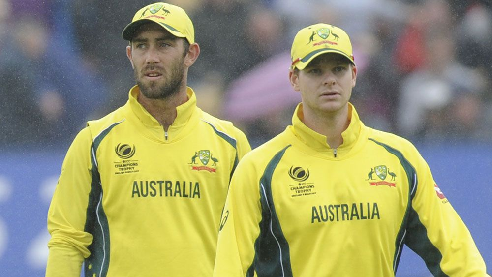 Australian cricket captain Steve Smith slammed on Twitter for supporting Glenn Maxwell