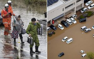 Desperate search for 17 missing in wake of Typhoon Hagibis