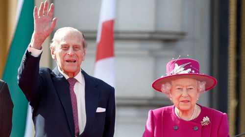 Prince Philip and Queen Elizabeth. (AAP)