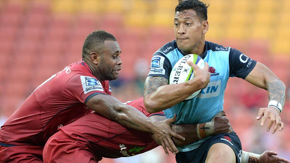 Waratahs hold off dogged Reds