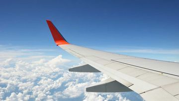 Generic plane stock image | Aircraft wing