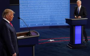 Trump v Biden final debate live updates: Fierce clashes, less chaos - how it all played out
