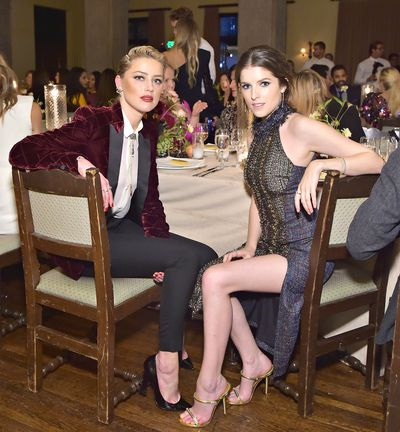 Amber Heard and Anna Kendrick