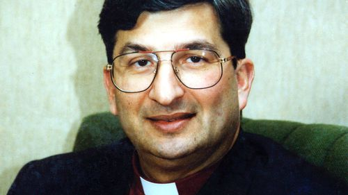 A file photo of Archbishop Roger Heft. (AAP)
