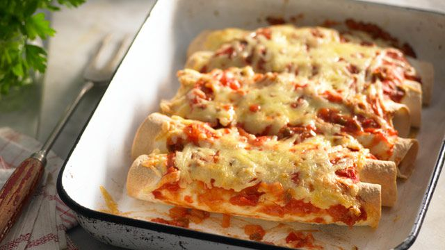 Chilli burritos