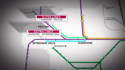 Metro suburban services could be extended to Wyndham Vale and Melton.
