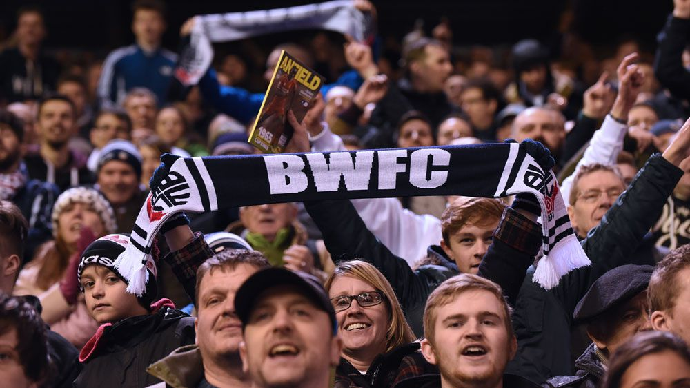 Bolton Wanderers fans. (AFP)