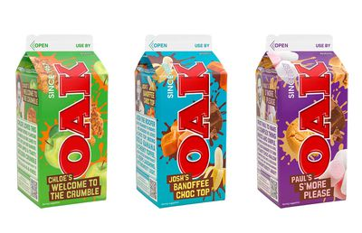 Oak launches three new fan flavours for national contest