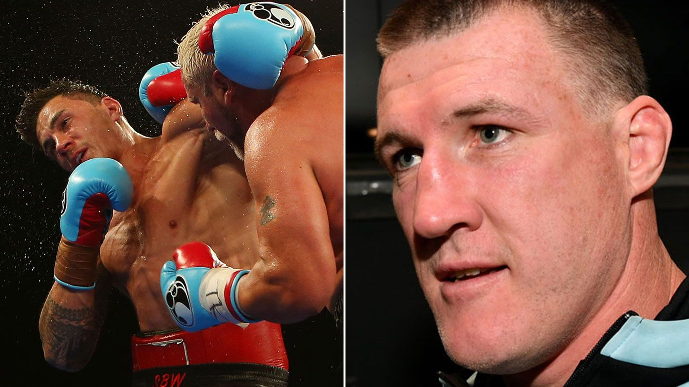 Paul Gallen accuses Sonny Bill Williams of dodging him for touted boxing match