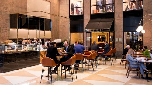 The District Brasserie in Chifley Square.