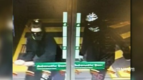 Queensland service station robberies car theft