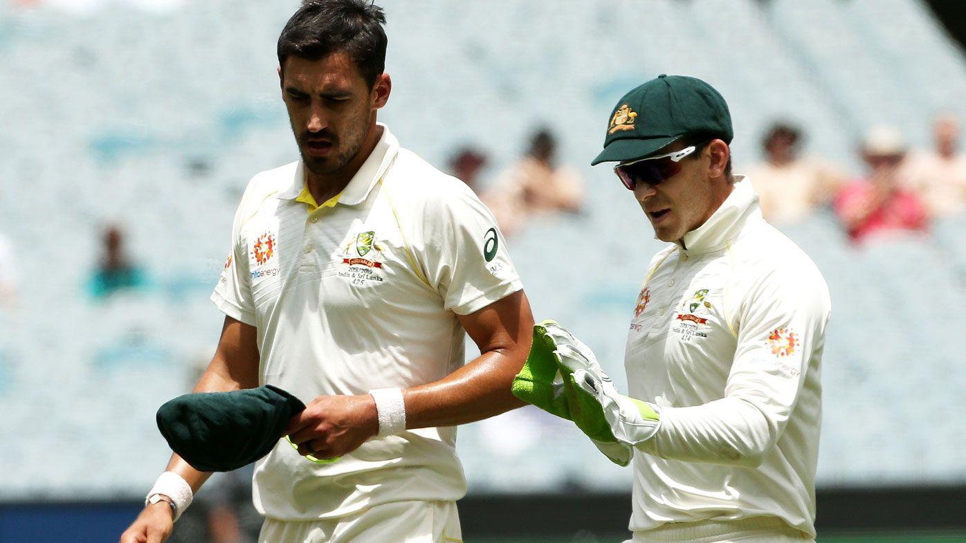 Mitchell Starc low on confidence according to Australia captain Tim Paine