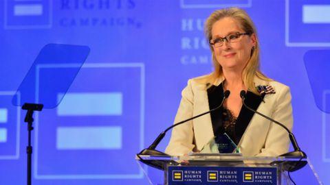 Meryl Streep admonished US President Donald Trump for his Twitter tirades.