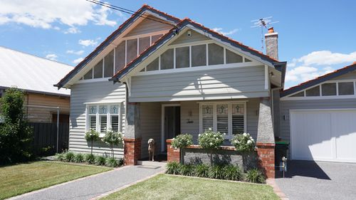And this glorious home is where the lucky bidders will live. (A Current Affair)
