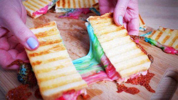 Rainbow food is definitely fun food