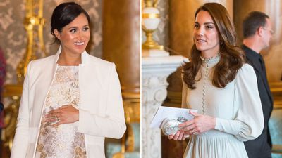 The duchesses attend a Buckingham Palace reception, March 2019