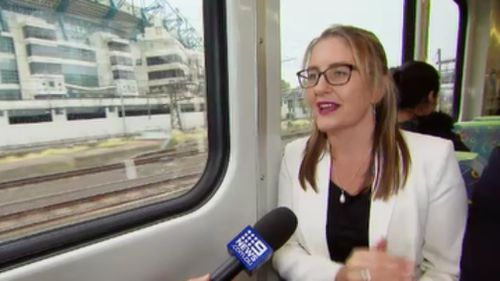 Transport Minister Jacinta Allan spoke to 9NEWS about the government's impending transport projects. (9NEWS)