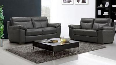 """When Choice took a look at IKEA's """"leather sofas and armchairs"""" section of IKEA's Australian website, they were surprised to find polyester and polyurethane couches masquerading as the real thing. (IKEA)"""