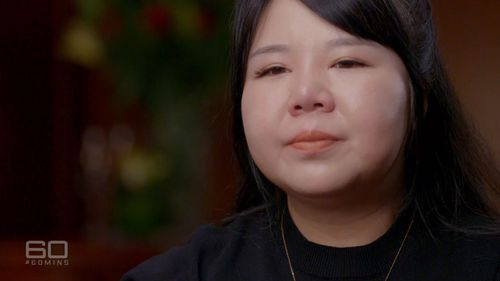 Former Crown employee and whistleblower Jenny Jiang.
