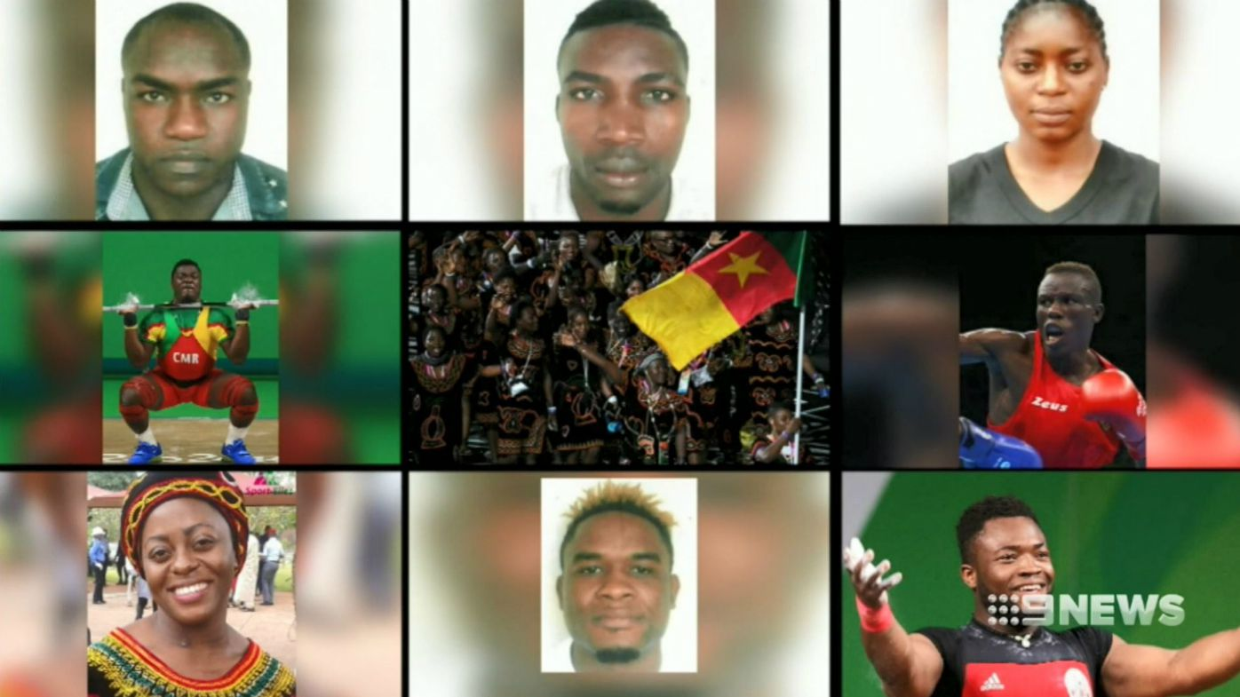 Missing Cameroon athletes