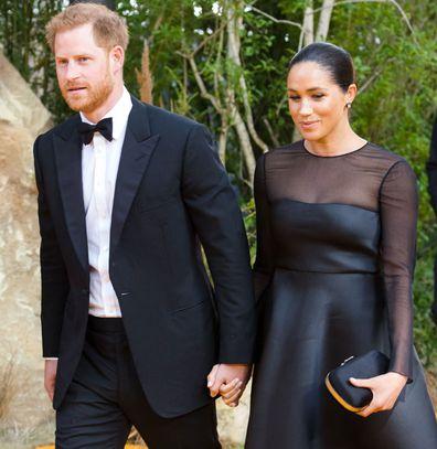 Prince Harry Meghan Markle Lion King Premiere UK 2019